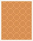 Sizzix Texture Fades Embossing Folder - Rosettes by Tim Holtz
