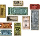 Sizzix Thinlits Die Set - Ticket Booth by Tim Holtz (6 dies)