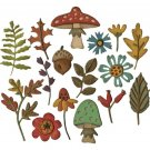 Sizzix Thinlits Die Set - Funky Foliage by Tim Holtz (16 dies)