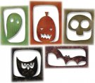 Sizzix Thinlits Die Set - Halloween Hangouts by Tim Holtz (5 dies)