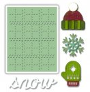 Sizzix Sidekick Side-Order Set - Winter by Tim Holtz