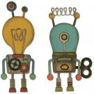 Sizzix Thinlits Die Set - Robotic by Tim Holtz (14 dies)