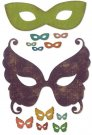 Sizzix Thinlits Die Set - Masquerade by Tim Holtz (12 dies)