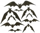 Sizzix Thinlits Die Set - Bat Crazy by Tim Holtz (10 dies)