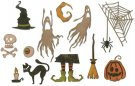 Sizzix Thinlits Die Set - Frightful Things by Tim Holtz (16 dies)