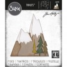 Sizzix Thinlits Die Set - Alpine by Tim Holtz (7 dies)