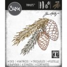 Sizzix Thinlits Die Set - Pine Branch by Tim Holtz (4 dies)