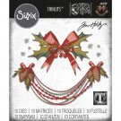 Sizzix Thinlits Die Set - Deck the Halls Colorize by Tim Holtz (10 dies)