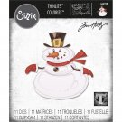 Sizzix Thinlits Die Set - Mr. Snowman Colorize by Tim Holtz (11 dies)