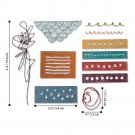 Sizzix Thinlits Die Set - Media Marks by Tim Holtz (11 dies)