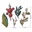 Sizzix Thinlits Die Set - Holiday Brushstroke by Tim Holtz (9 dies)