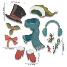 Sizzix Thinlits Die Set - Winter Wardrobe by Tim Holtz (11 dies)