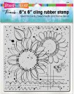 Stampendous Cling Stamp - Sunny Sketch