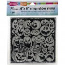 Stampendous Cling Stamps - Pumpkin Spooks