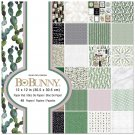 "BoBunny 12""x12"" Paper Pad - Garden Party (48 sheets)"