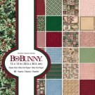 BoBunny 12x12 Paper Pad - Christmas Treasures (48 sheets)