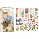 American Crafts Botanical Journal Noteworthy Die-Cuts (54 pack)