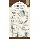 "BoBunny 4""x6"" Clear Stamps - Tea Party"