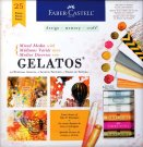 Faber Castell Mixed Media With Gelatos Kit (25 pieces)