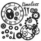 "49 & Market 6""x6"" Archival Chipboard - Timeless Black"