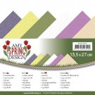 "Amy Design 13.5""x27"" Linen Paper Pad - Spring (24 sheets)"
