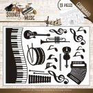 Amy Design Chipboard - Sounds of Music