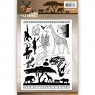 Amy Design Clear Stamp Set - Wild Animals