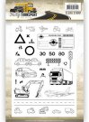 Amy Design Clear Stamp Set - Daily Transport