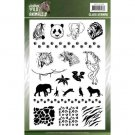 Amy Design Clear Stamps - Wild Animals 2