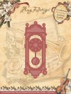 Amy Design Dies - Vintage Christmas Collection Old-Fasioned Clock