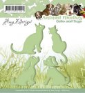 Amy Design Dies - Animal Medley Cats and Dogs