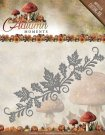 Amy Design Dies - Autumn Moments Leaves Border