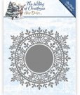 Amy Design Dies - The Feeling of Christmas Ice crystal circle