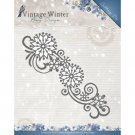 Amy Design Dies - Vintage Winter Snowflake Swirl Border
