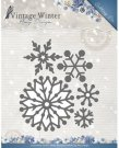 Amy Design Dies - Vintage Winter Beautiful Snowflakes