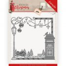 Amy Design Dies - Nostalgic Christmas Mail Box Frame