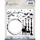 Amy Design Embossing Folder - Vintage Winter