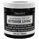DecoArt Americana Decor Outdoor Living Paint - Iron Gate (236 ml)