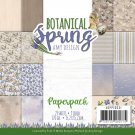"Amy Design 6""x6"" Paper Pad - Botanical Spring (23 sheets)"