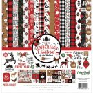 "Echo Park 12""x12"" Collection Kit - A Lumberjack Christmas (13 sheets)"