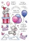 Wild Rose Studio A5 Clear Stamp Set - Bella`s Party 2