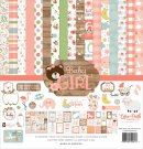 Echo Park 12x12 Collection Kit - Baby Girl (13 sheets)