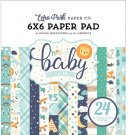 "Echo Park 6""x6"" Paper Pad - Hello Baby Boy (24 sheets)"