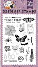 Echo Park Clear Stamp Set - Stay For A Spell