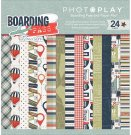 "Photo Play 6""x6"" Paper Collection Pack - Boarding Pass (24 sheets)"