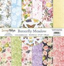 "Scrapboys 12""x12"" Paper Set - Butterfly Meadow (12 sheets+cut out elements)"