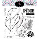 Colorado Craft Company 6x6 Clear Stamp Set - Tickled Pink-Big & Bold