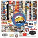"Carta Bella 12""x12"" Collection Kit - All Aboard (13 sheets)"