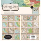 "Carta Bella 12""x12"" Collection Kit - Cartography No.1 (13 sheets)"