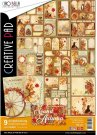 Ciao Bella A4 Scrapbooking Creative Paper Pad - The Sound Of Autumn (9 sheets)